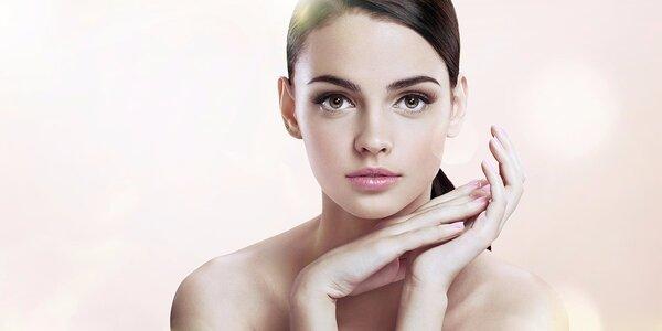 Balíčky kosmetického ošetření pleti dle výběru