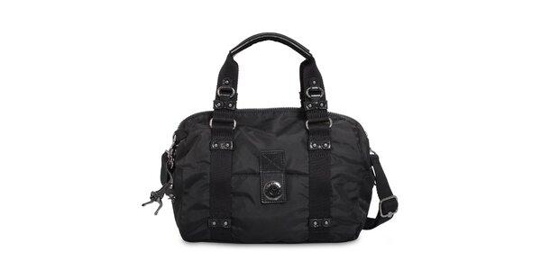Dámská černá kufříková kabelka Kipling