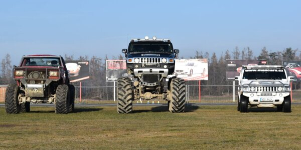 15min. offroad jízdy: Hummer, Monster a Trial Truck
