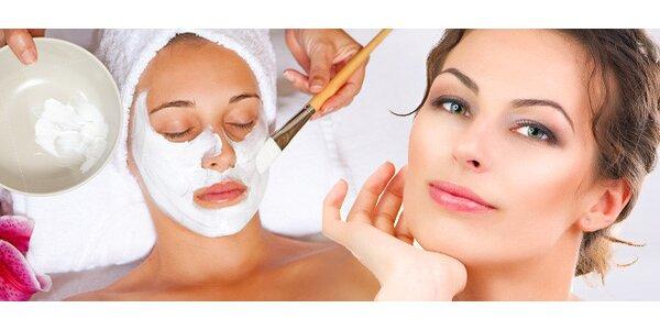2hodinová kosmetická péče o obličej, krk a dekolt