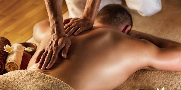 Sportovní, relaxační nebo celotělová masáž