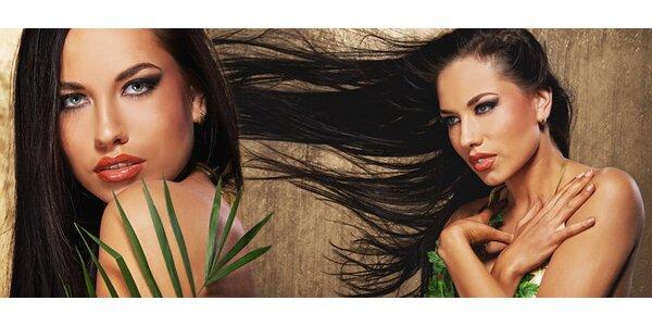 Výživa a regenerace vlasů brazilským keratinem