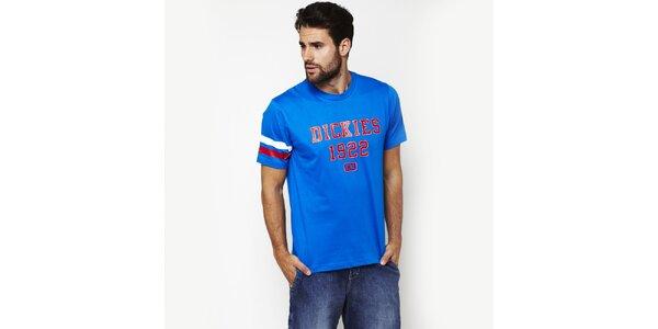 Pánské nebesky modré tričko s potiskem Dickies