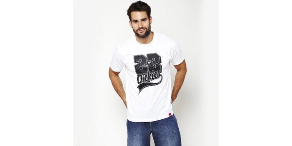 Pánské bílé tričko s potiskem Dickies