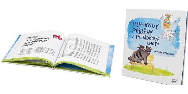 Letní čtení pro děti - Pufíkovy příběhy z Pohádkové Lhoty