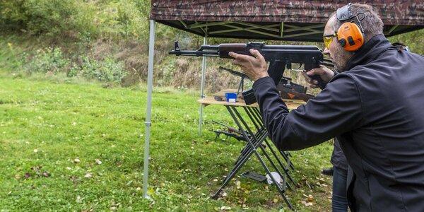 Střelecké balíčky: jakékoli zbraně a až 111 nábojů