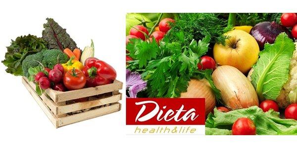Farmářské bedýnky - 7-10 kg zeleniny a ovoce