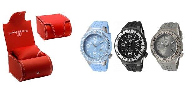 Luxusní pánské sportovní hodinky Swiss Legend Neptune za likvidační cenu. Výběr…