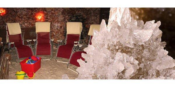 Jeden nebo pět vstupů do solné jeskyně