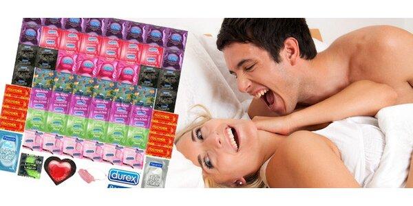 Maxi balení kondomů pro žhavé letní noci