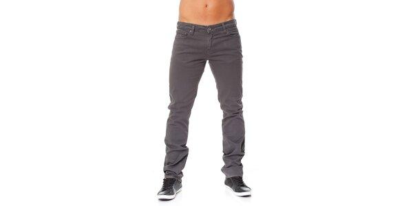 Pánské tmavě šedé džíny Guess