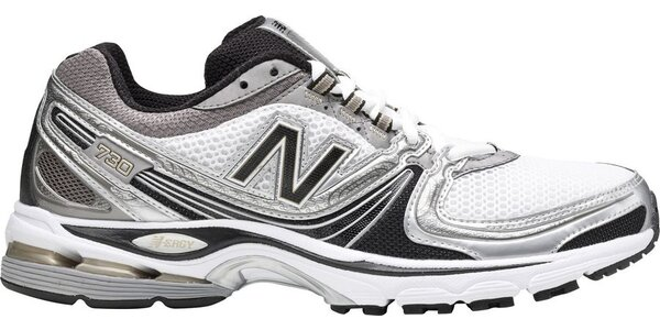 Pánská černo-bílá sportovní obuv New Balance