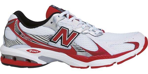 Pánská bílo-červená sportovní obuv New Balance