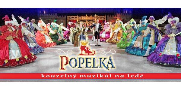 Popelka - kouzelný muzikál na ledě