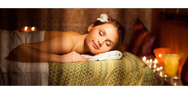 60 minut relaxační masáže + druhá masáž dle vlastního výběru