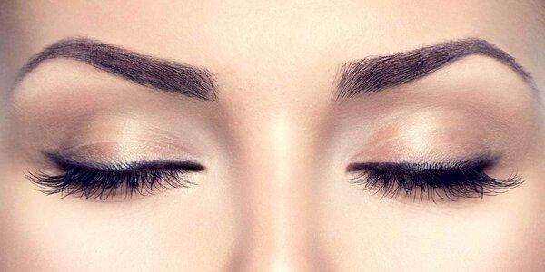 Permanentní make-up obočí nebo linek