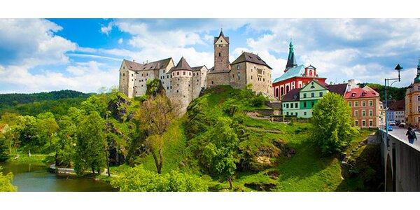 2-3 romantické noci pro DVA u hradu Loket