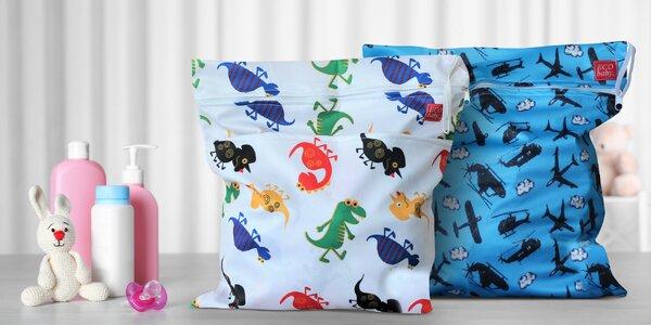 Uzavíratelné tašky nejen na plenky: ruční výroba