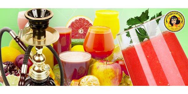 50% sleva na ovocné a zeleninové fresh džusy