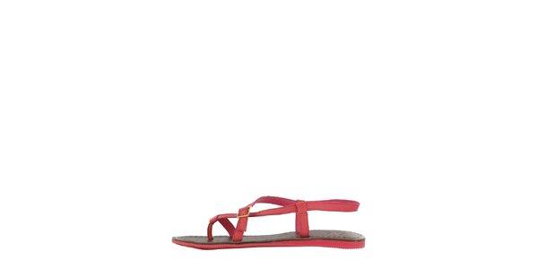 Dámské růžové sandály Flip Flop