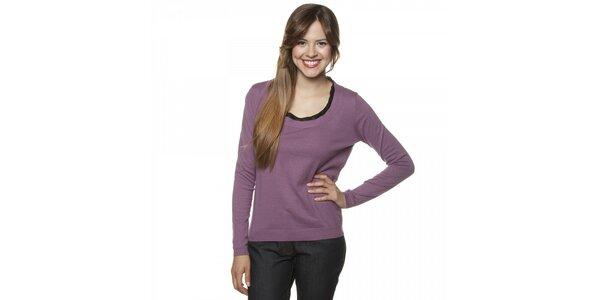 Dámský fialový svetr Armand Basi