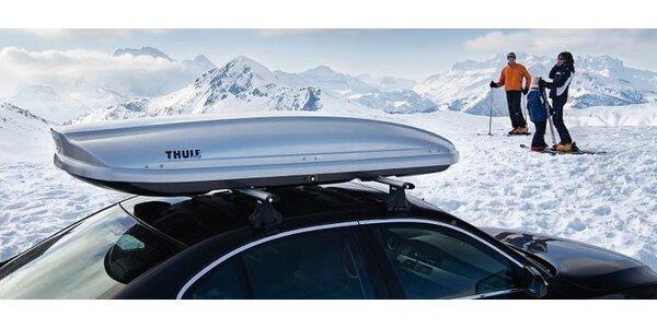 Zapůjčení autoboxů a střešních nosičů Thule