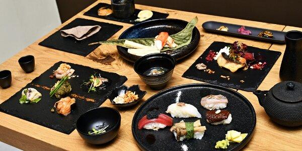 5chodové degustační japonské menu pro dva