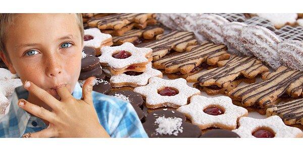 2 kg vánočního cukroví a dezertů