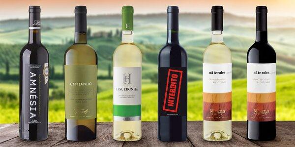 Připijte si: červené, bílé i sada 6 vín