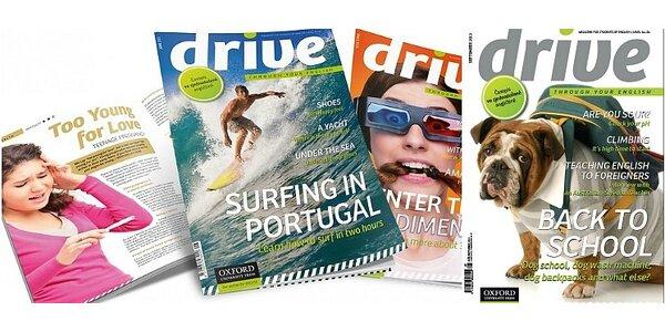 Drive - lifestylový časopis ve zjednodušené angličtině - pro zdokonalení Vaší…