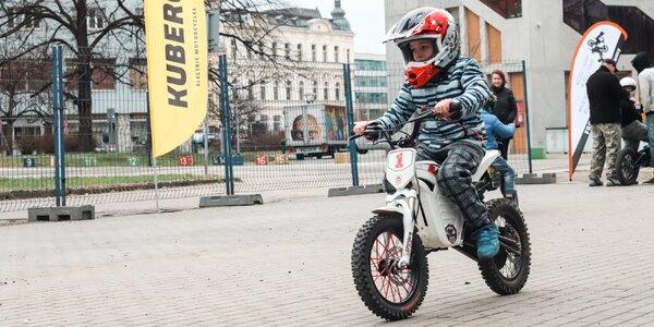 Jízda na elektromotorce pro děti na Motosalon Brno