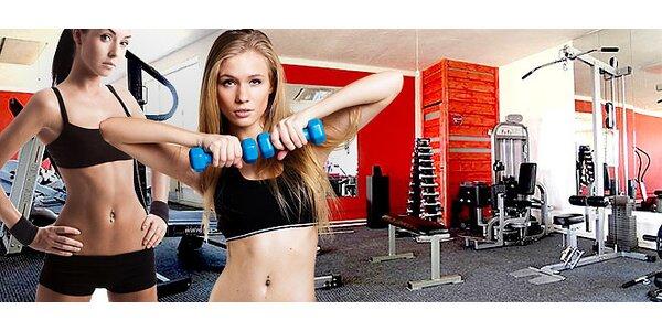 Permanentky do fitness pro ženy, v ceně vstup na vibrační plošinu FITVIBE
