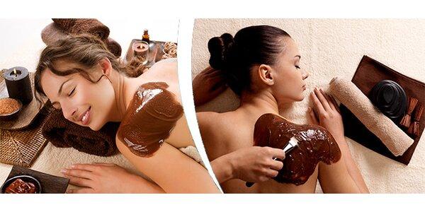 Čokoládová masáž v délce 60 minut