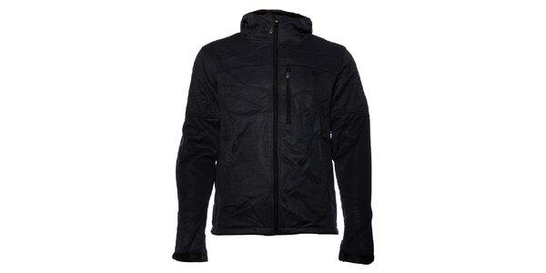 Pánská černá softshellová bunda Loap