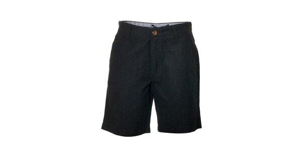 Pánské tmavě šedé šortky značky Bendorff