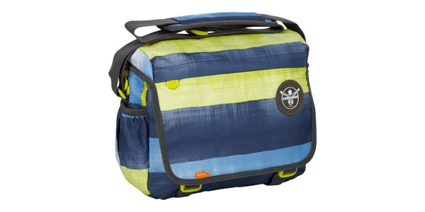 Žluto-modrá taška Chiemsee