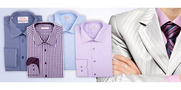 Kvalitní pánská košile SmartMen stylu business nebo casual