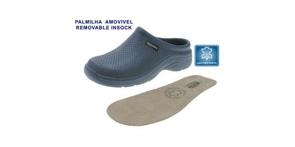 Dámské petrolejově modré boty Beppi s vyjímatelnou stélkou