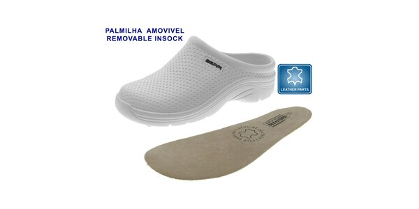 Dámské bílé boty Beppi s vyjímatelnou stélkou
