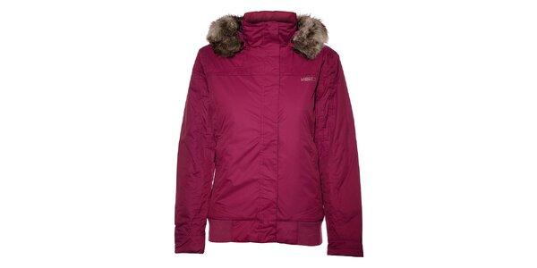 Dámská růžová bunda Loap s kožešinou
