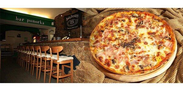 Pravá italská pizza Prosciutto, Pikante, Quattro Formaggi nebo Margherita