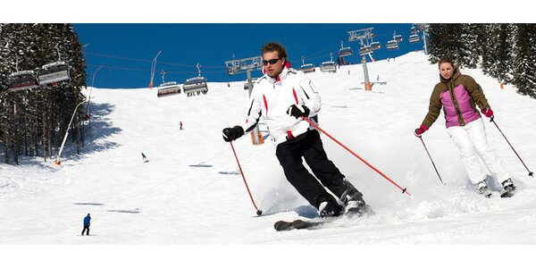 Celodenní skipas do skiareálu Morávka Sviňorky