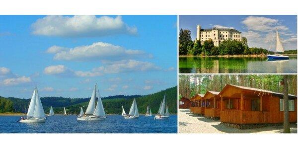 Rekreační středisko Radava - ubytování v chatách a karavanech přímo na břehu…