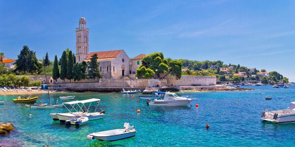Týden v Chorvatsku v moderních studiích kousek od pláže