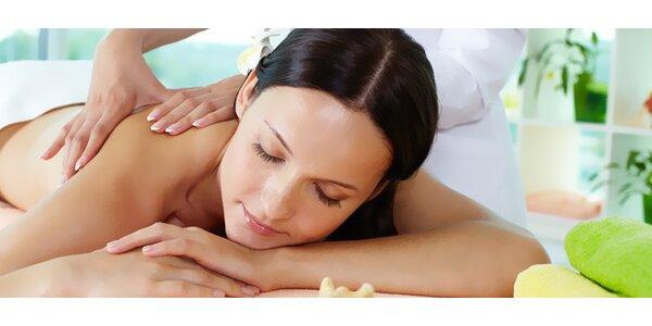Aromaterapeutická masáž - 90 minut blaha