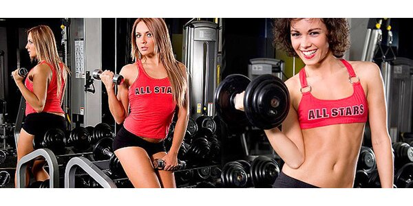 Permanentky do luxusního Fitness Angelo