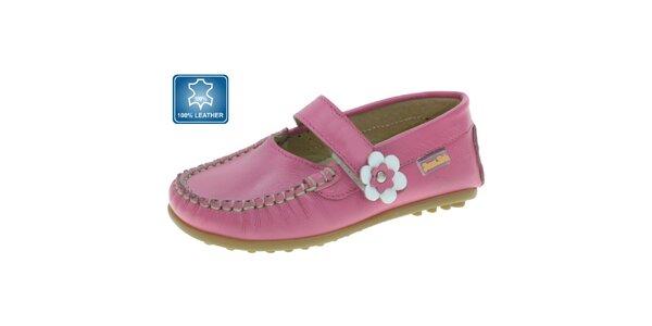 Dívčí růžové mokasíny Beppi