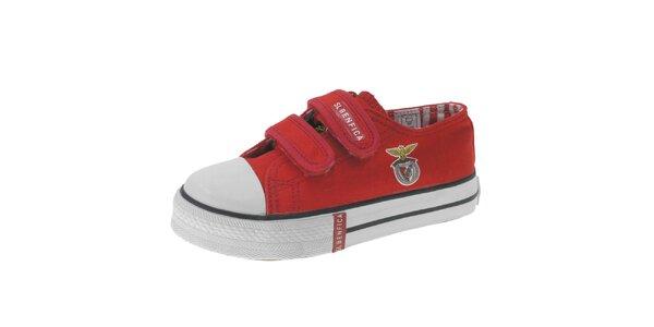 Dětské červené tenisky Beppi