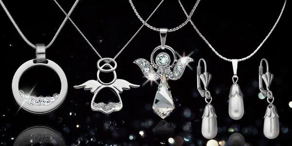 Elegantní dámské šperky Swarovski Elements