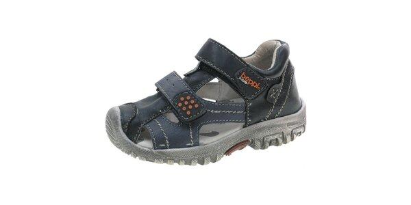 Dětské modré sandálky Beppi